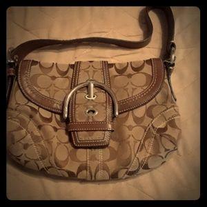 Small Coach hobo bag